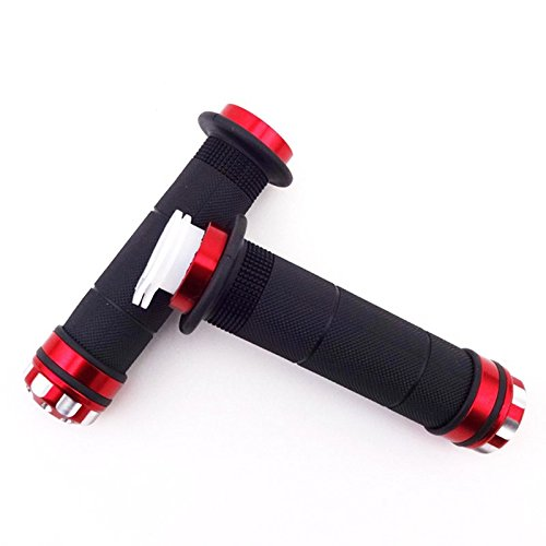 TC-Motor 51 Inches Red 1300mm Racing Carburetor Gas Throttle Cable For 2 Stroke 49cc 50cc 60cc 66cc 80cc Engine Motorized Bicycle Motor Bike