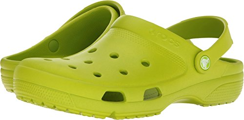 Crocs Unisex Coast Clog Volt Green 10 Women / 8 Men M US