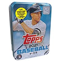 $23 » 2021 Topps Series 1 MLB Baseball Tin (75 cards/bx, Judge)