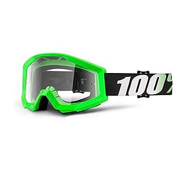 100% Strata - Gafas enduro - verde 2018: Amazon.es: Coche y moto