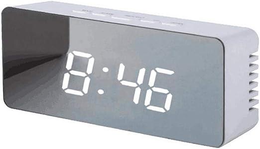 SMNHSRXH Reloj de Pared 12H / 24H Pantalla Digital Reloj ...