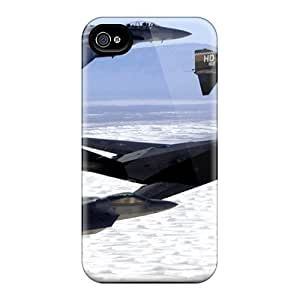 Brand New 4/4s Defender Case For Iphone (f 117 F 22)