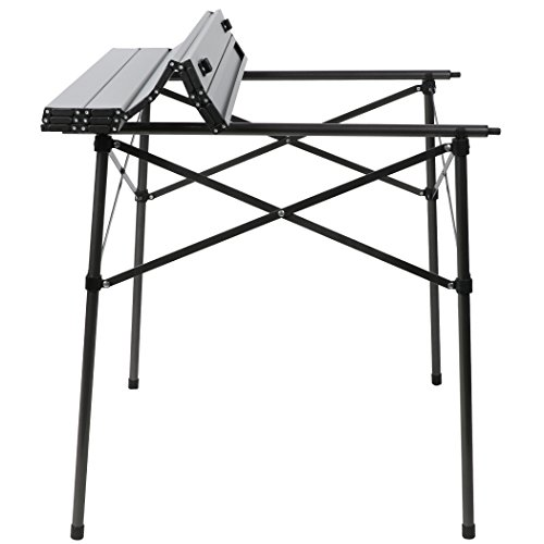 PORTAL Lightweight Portable Tall Tripod Stool Heavy Duty Folding Slacker Chair for Outdoor Camping Mountaineering