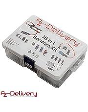 AZDelivery Kit 16 in 1 - Kit di accessori per Raspberry Pi/Arduino con eBook