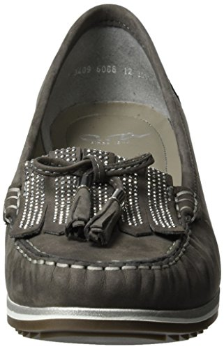 Ara New-Haven, Mocasines para Mujer Grau (Street)