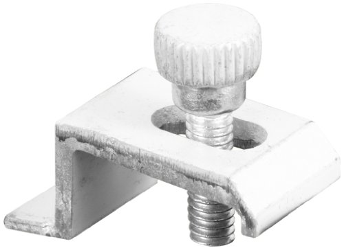 Prime-Line Products T 8734 Storm Door Panel Clip, 3/8-Inch, White,(Pack of (Storm Window Panel Clips)