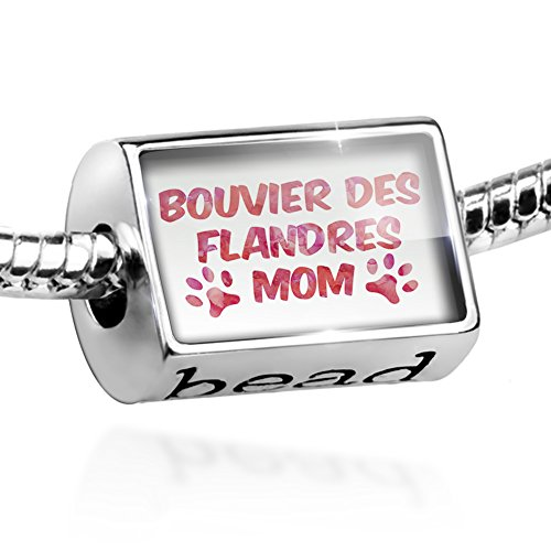 Charm Dog & Cat Mom Bouvier des Flandres Bead by NEONBLOND ()