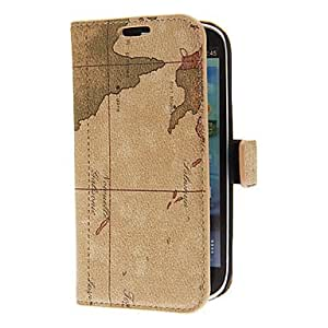 RC - Map Pattern Full body Case for Samsung Galaxy S3 I9300 (Assorted Colors) , Gray