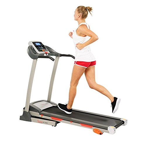 (Sunny Health & Fitness Treadmill Folding Motorized Running Machine)
