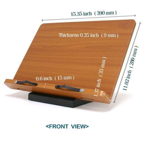 Wiztem Cookbook Book Stand (Bookstand/Bookstands/Holder/Music) (Jasmine) by Wiztem
