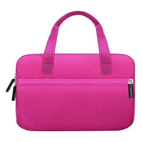 MoKo 7-8 Inch Amazon Tablet Sleeve Bag, Portable Neoprene Case Bag Fits Fire HD 8 2018, Fire HD 8 Kids Edition, Fire 7 Kids Edition, Fire 7 2017/2019, Kindle Oasis - Carrying Neoprene Case