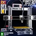 2015! newest coming high quality very famous reprap prusa i3 3d printer two rolls of fliament+8GB SD Card