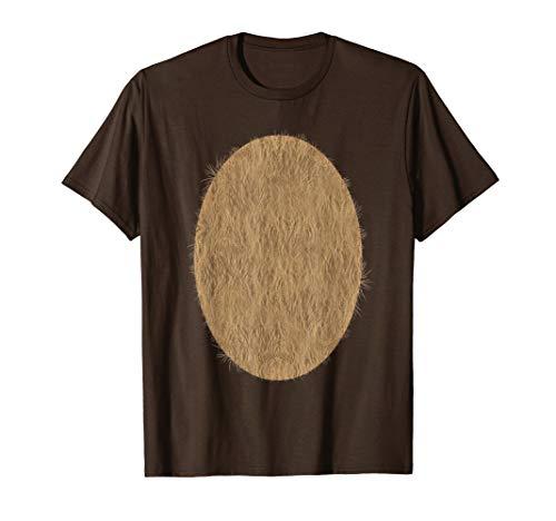 Deer Belly Tshirt Halloween Costume Rudolph DIY Shirt -