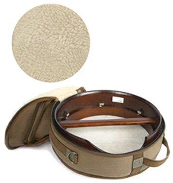 McBrides de Luxe 18 couvercle Bodhran irlandais tambour en brun