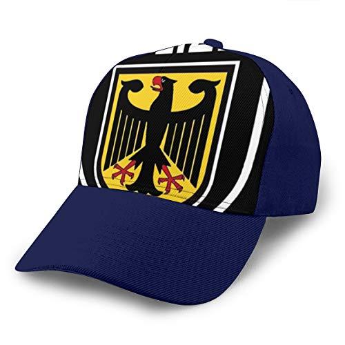 Bizwheo Polizei German 3D Printing Adjustable Baseball Cap Hat Hip Hop Snapback Caps Navy (Polizei-designer)