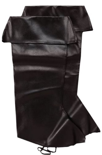 [Forum Novelties 25166 Leatherette Pirate Boot Tops] (Pirate Costumes Boot Covers)