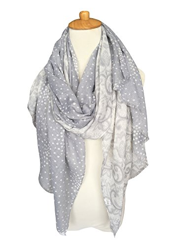 GERINLY Lightweight Shawl Wrap Flowers product image