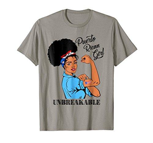 Puerto Rican Girl Unbreakable T-Shirt Heritage Puerto Rico -