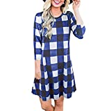 Maxi Dress with Sleeves,Skirts for Girls,Athletic Skirts Women,Dress Tops for Women for Work,Skirted Leggings Women Queen,Blue,S