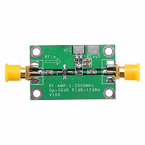 TOOGOO 1-2000MHz 2Ghz Low Noise LNA RF Broadband Amplifier Module 30dB HF VHF/UHF 153738
