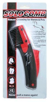 - Solocomb - For Horse Mane Pulling or Thinning Solo Comb FAST POSTAGE by Solocomb