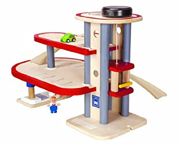 Plan Toys Garage : Plan toys parking garage by plantoys: amazon.de: spielzeug