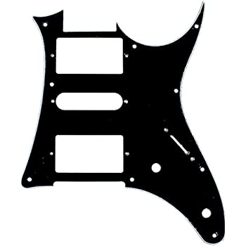 Quality Guitar Pick Guard For Ibanez Ibanez RX750PM RX 750PM,HSH,3Ply Black