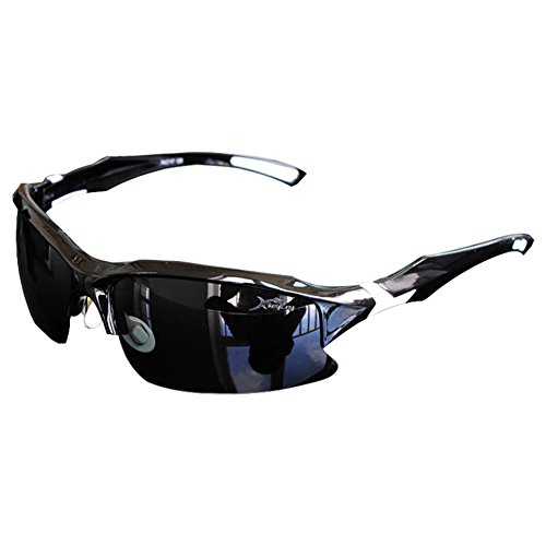 Professional Polarized Aviator Indoor Summer Cycling Driving Fishing Glasses Outdoor Sports Sunglasses White