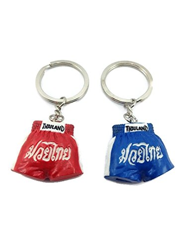 2 PC Collection keyring Keychain Thai Boxing Resin 3D by Mr_air_thai_Keychain