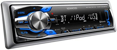 Kenwood KMR-M308BTE digital Media Receiver mit Bluetooth-Freisprecheinrichtung, Apple iPod-Steuerung für maritimen Einsatz schwarz