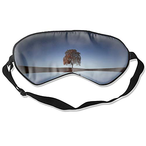 (Good Night Sleep Mask - Starry Sky Eye Cover, Soft & Comfortable Blindfold for Total Blackout & Light Blocking)
