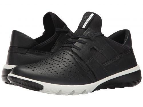 ECCO(エコー) メンズ 男性用 シューズ 靴 スニーカー 運動靴 Intrinsic 2 Perforated - Black/Black [並行輸入品] B07BDG3LX2
