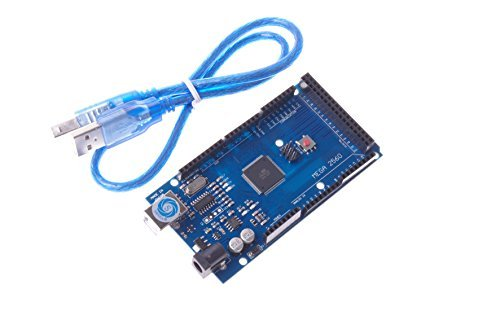 Price comparison product image SMAKN® MEGA2560 R3 Control Board ATMEGA2560-16AU For Arduino Compatible + USB Cable
