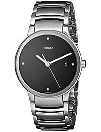 Mens R30927713 Centrix Jubile Black Dial Watch. Rado