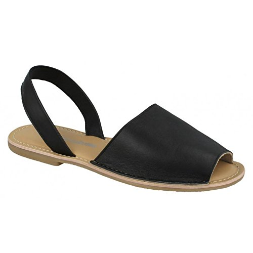 Leather Collection Womens/Ladies Womens/Ladies Womens/Ladies Slingback Mule Sandals Parent B07F9TFG9P 3be865