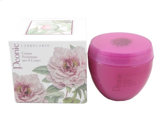 Peonie (Peony) Perfumed Body Cream by L'Erbolario - Priority Flat Rate Time Shipping