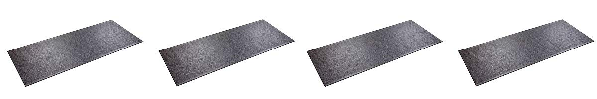 SuperMats High Density Commercial Grade Solid Equipment Mat 29GS Made in U.S.A. for Large Treadmills Ellipticals Rowers Water Rowing Machines Recumbent Bikes and Exercise Equipment (4)