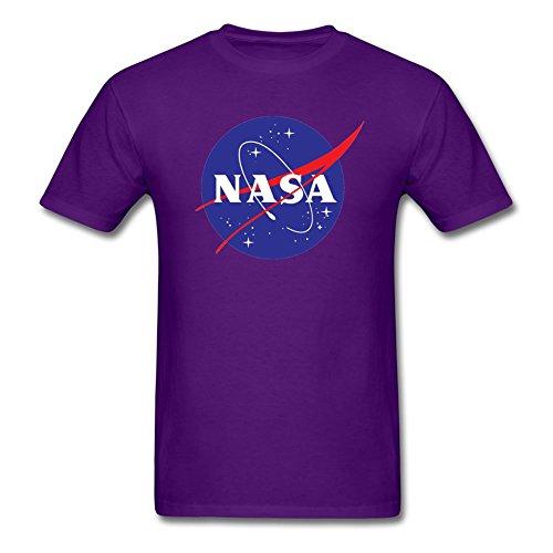 De Corta Diseño Camiseta La Manga Nasa Purple0 d7vwPqngxq