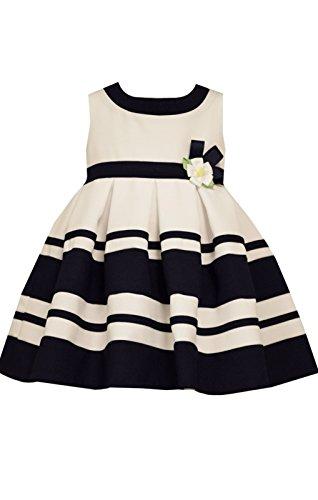 Sleeveless Stripe and Dot Dress with Panty (Peter Pan Panties)