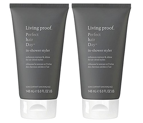 Price comparison product image Living Proof Perfect Hair Day (PhD) In Shower Styler 5 Ounce (Set of 2) - Body -Softness - Shine