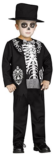 Toddler Dead The Day Of Costumes (Toddler Halloween Costume- Skeleton King Toddler Costume)
