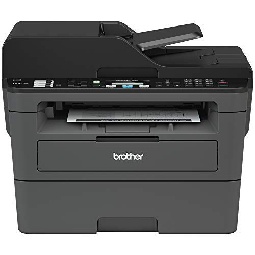 Brother Monochrome Laser Printer, Compact All-in One Printer, Multifunction Printer, MFCL2710DW, Wireless Networking and Duplex Printing and Amazon Dash Replenishment Digital Setup Guide