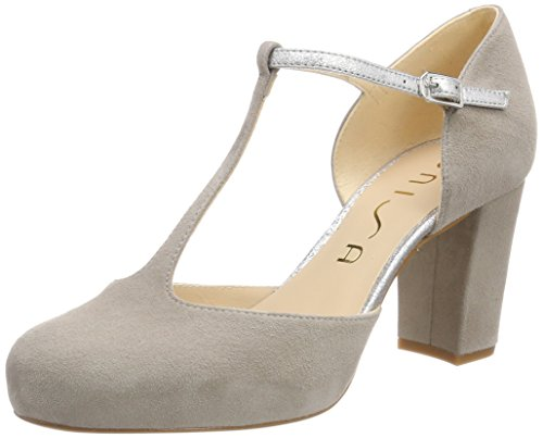 fog silver ks se Mary Netan Multicolour Women''s Unisa 18 Janes Black qz8W7
