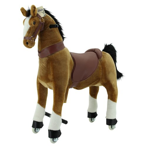 Sweety Toys 7363 FonctionneHommest animal cheval marronIE 4 a 9 ans -RIDING ANIMAL