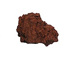 North American RockGarden Red Lava Rock Aquarium Fish Shelter Hideout Bulk 25lbs