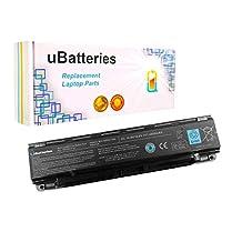 UBatteries Laptop Battery Toshiba Satellite C805 C840 L70 L70D L75 L75D L800 L805 L830 L835 L840 L840D L845 L845D L850 L850D - 6 Cell, 4400mAh