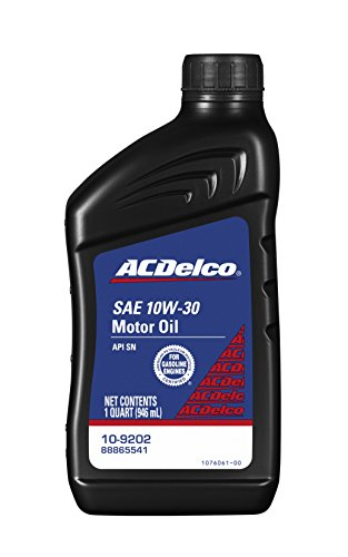 Free shipping acdelco 10 9202 10w 30 conventional motor for 10w 20 motor oil