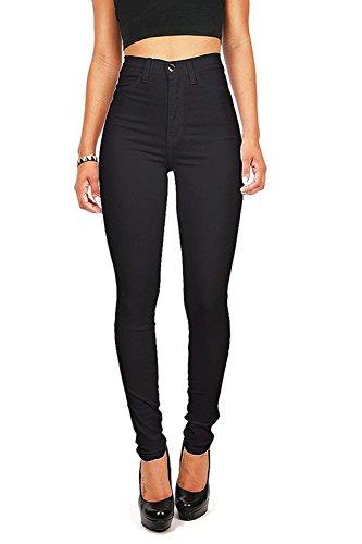 Olive K Women's Denim High Waisted Stretchy Skinny Jeans