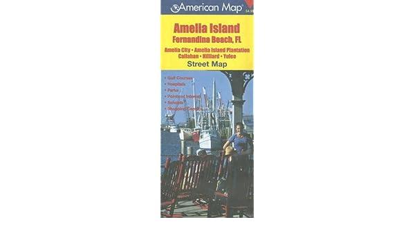 Amelia City Florida Map.Amelia Island Fernandina Beach Fl Street Map Amelia City Amelia