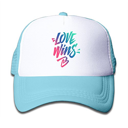 Baby Love Wins Boys And Girls A Grid Baseball Cap Can Be Adjusted